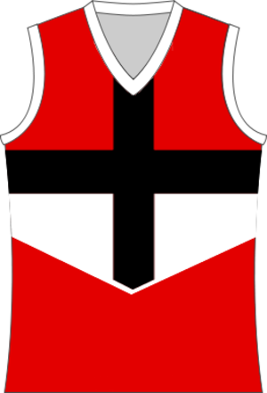 Western Border Football League - Image: St Kilda FC Cross Jumper