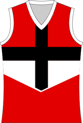 Myrtleford Football Club - Image: St Kilda FC Cross Jumper