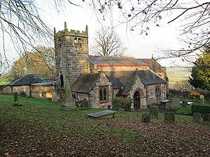 Endon - Image: St Luke's Church, Endon