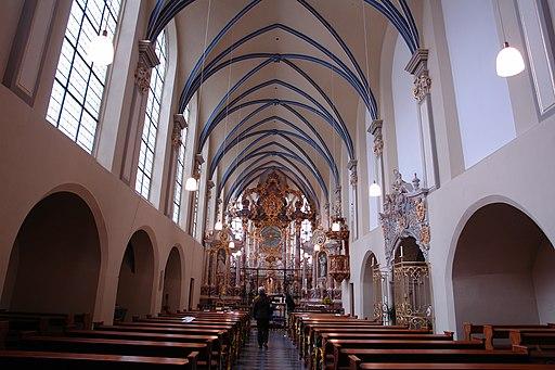 St Maria von den Engeln - Innenraum