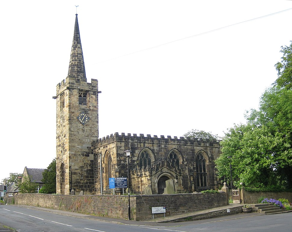 St Mary's Worsbrough 23 June 2015 1