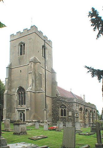 Grantchester (TV series) - Image: St Mary and St Andrew, Grantchester, Cambridgeshire geograph.org.uk 334067