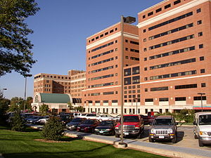 Mayo Clinic Hospital, Saint Mary's Campus - Mayo Clinic Hospital - Rochester, Saint Marys Campus, main entrance