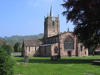 St Mary's Church, Wirksworth - Image: St Marys Wirksworth