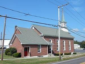 Hubley Township, Schuylkill County, Pennsylvania - Image: St Paul's United Church of Christ, Sacramento, Hubley Twp, Schuylkill Co PA 03