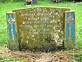 St Peter's church - Art Deco headstone - geograph.org.uk - 1363694.jpg