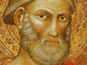 Martino di Bartolomeo. st Peter. detail. Washi...