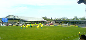 Stadionul Concordia - Image: Stadion Chiajna