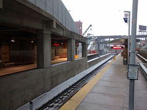 Stadium station (MetroLink) - Image: Stadium station, St. Louis