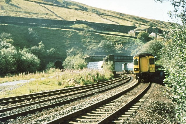 Standedge Tunnel east end 1981 - geograph.org.uk - 818333