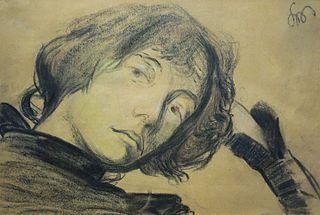 Portrait of Dagny Przybyszewska née Juel