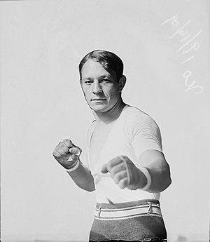 Stanley Ketchel - Ketchel in fighting pose