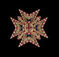 Star bavarian Order of Saint George Schatzkammer Munich.jpg