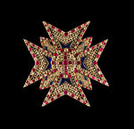 Star bavarian Order of Saint George Schatzkammer Munich.jpg