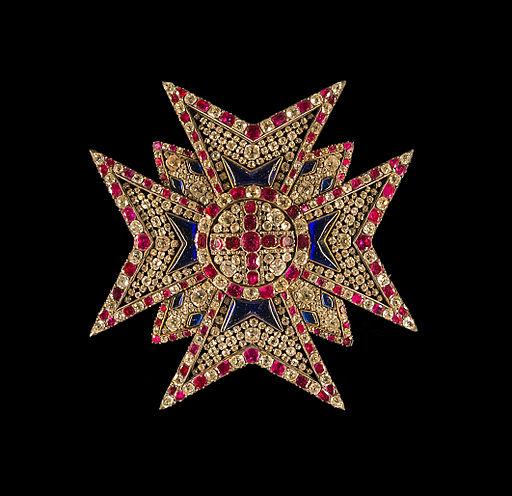Star bavarian Order of Saint George Schatzkammer Munich