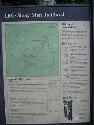 Trailhead - Trailhead sign