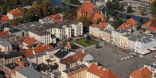 Old Market square, Bydgoszcz