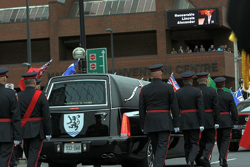 File:State funeral for Lincoln Alexander (2).jpg