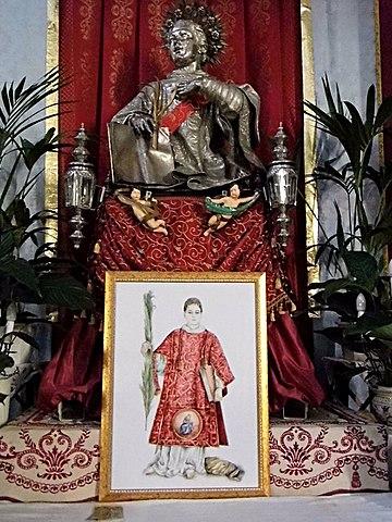 File statua di san cesario diacono e martire parrocchia for Albanese arredamenti san cesario lecce