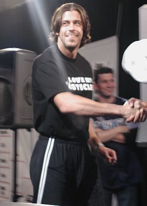 Stevie Richards - Richards in March 2003