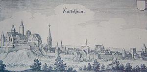 Kastellaun - Mediaeval view of Kastellaun