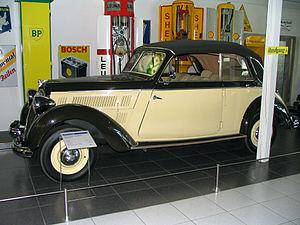 Stoewer - Stoewer Sedina 1937-1940