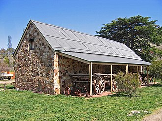 Carcoar, New South Wales - The Stoke Stable Museum, built by convict labour in 1849