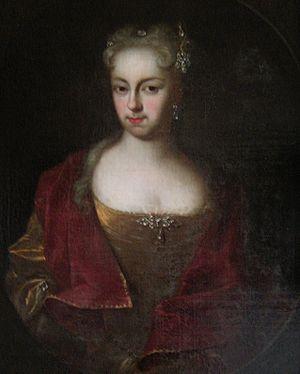 Anna Constantia von Brockdorff - Anna Constantia during her marriage to the Baron Hoym