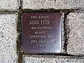 Stolperstein Anna Lion, Brandstraße 42, Siegburg.jpg
