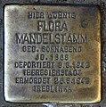 Stolperstein Donaustr 11 (Neukö) Flora Mandelstamm.jpg