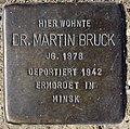 Stolperstein Eschenallee 13a (Weste) Martin Bruck.jpg