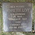 Stolperstein Herford Credenstraße 17 Henriette Levy.JPG