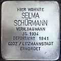Stolperstein Kalkar Monrestraße 20 Selma Schürmann.jpg