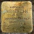 Stolperstein Landshuter Str 35 (Schön) Werner Cohn.jpg
