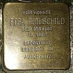 Stolperstein Obere Marktstraße 7, Rosa Rothschild, Groß-Umstadt, Landkreis Darmstadt-Dieburg.jpg