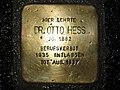 Stolperstein Otto Hess, 1, Ysenburgstraße, Wesertor, Kassel.jpg