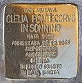 Stolperstein für Clela Pontecorvo in Sonnino (Rom).jpg