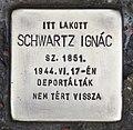 Stolperstein für Ignac Schwartz (Kiskunhalas).jpg