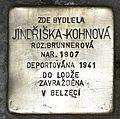 Stolperstein für Jindriska Kohnova.JPG