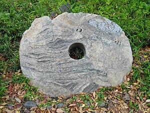 Hibiya Park - Image: Stone money at Hibiya Park in Tokyo