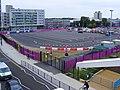 Stratford Olympic coach park - deserted. (7775066378).jpg