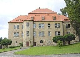 Castle in Struppen, Saxony, Germany