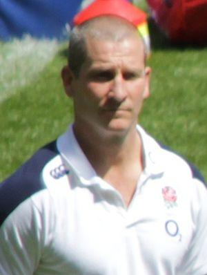 Stuart Lancaster (rugby union) - Image: Stuart Lancaster 2013 (cropped)