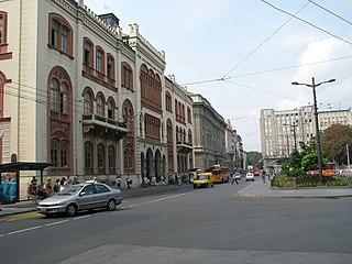 Studentski Trg Urban neighbourhood in Stari Grad, Belgrade, Serbia