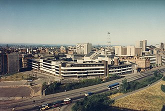 Scottish Television - STV's former Cowcaddens headquarters