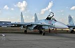 Su-27SM3 at the Celebration of the 100th anniversary of Russian AF (1).jpg