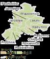 Subcarpathian Voivodeship - strzyżowski jarosławski gminas.png