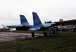 Sukhoi Su-27 Sukhoi Su-27 Khodinka Air Force Museum Sep93 4 (17150963011).jpg