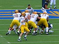 Sun Devils on offense at Arizona State at Cal 2010-10-23 5.JPG