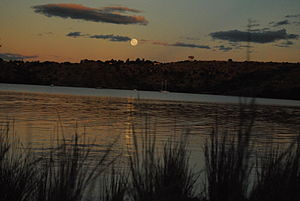 Gariep Dam - Image: Sunset at Oviston Gariep photo by Siloam Village